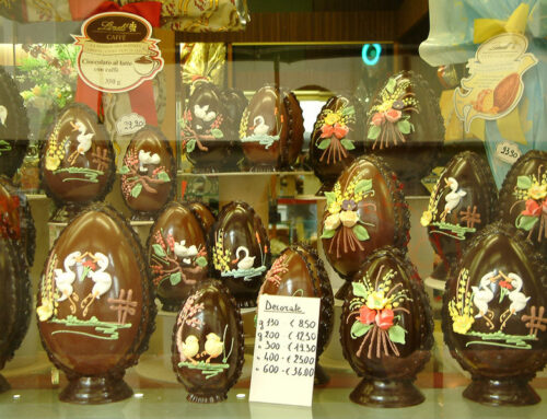 Italy's Extravagant Chocolate Easter Eggs