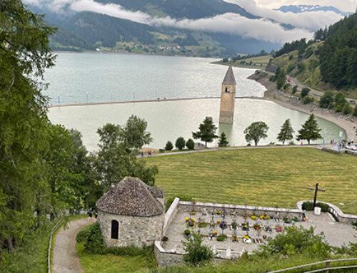 A trip back home: Lago di Resia and Lago di Vico