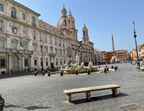 A trip back home: A day in deserted Rome